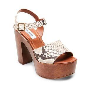9a8ce89bc56d Women s Steve Madden Wooden Heel Shoes on Poshmark